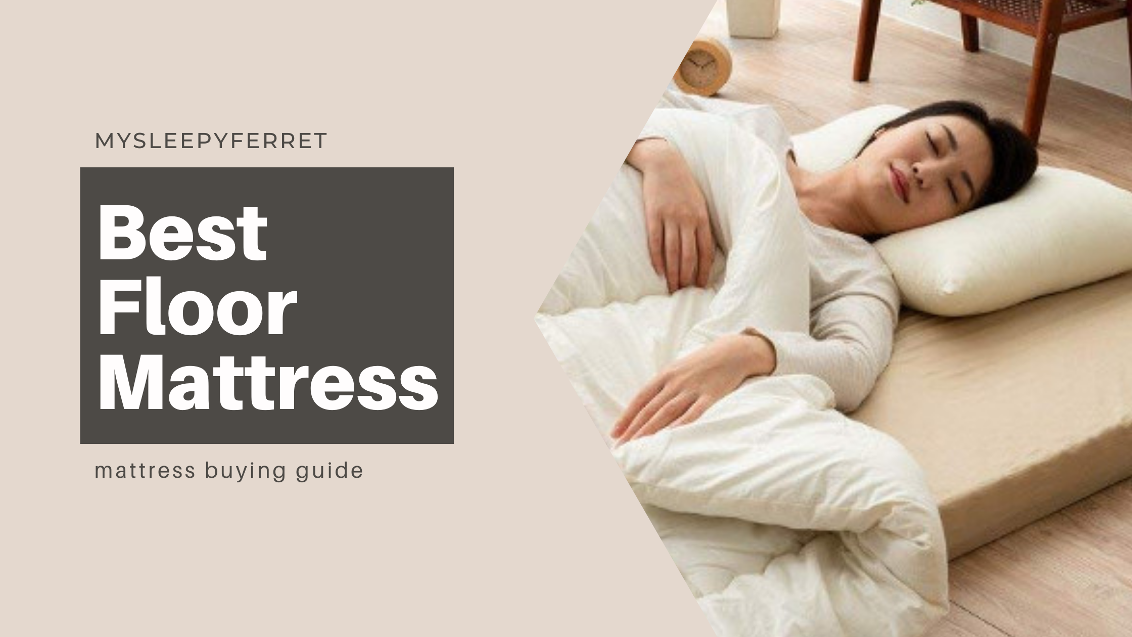 5 Best Floor Mattresses for for Back and Posture Sleep Relief